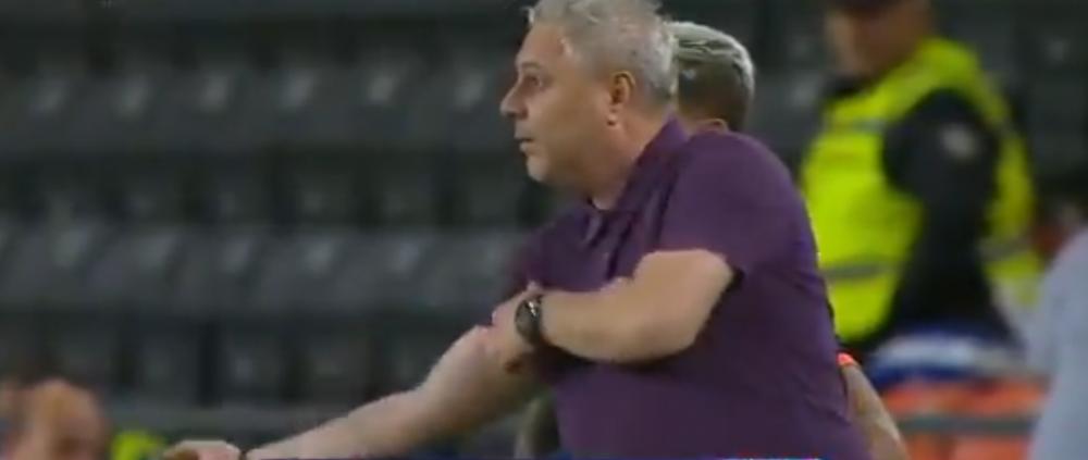 L-o fi avut la pariuri?! :)))) FABULOS: Sumudica a luat galben in minutul 1 dupa ce i-a aratat arbitrului muschii! VIDEO :))