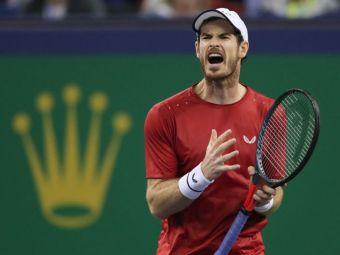 """""""Ce te uiti, ba, la mine! NU TE MAI UITA!"""" Moment bizar intre Fognini si Andy Murray, la Shanghai. Ce s-a intamplat intre cei doi"""