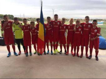 Romania are doua echipe la Danone Nations Cup. Cu cine se bat pustii lui Hagi si Luceafarul Cluj