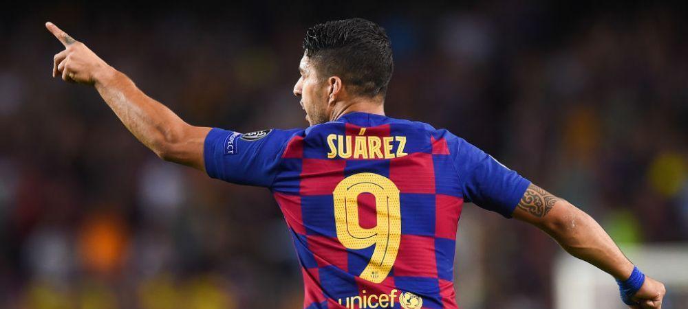 Barcelona cauta inlocuitor pentru Suarez! NUME SOC pe lista pentru noul numar 9 de pe Camp Nou