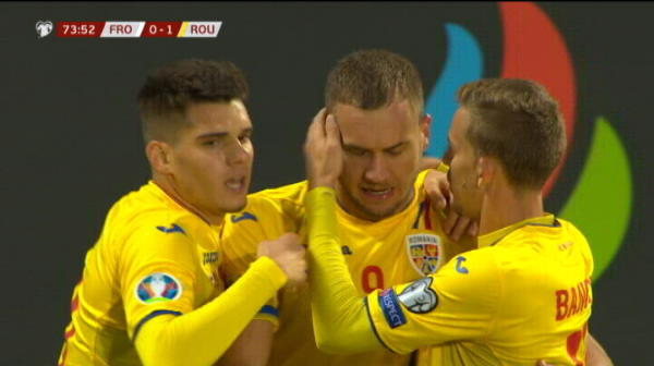 VIDEO IREAL | Reactia incredibila a lui Contra dupa golul lui Puscas! Selectionerul a avut 60 de secunde TERIBILE