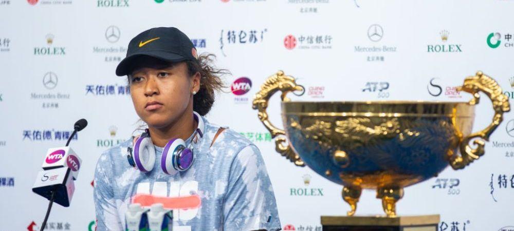Naomi Osaka S-A RETRAS inaintea finalei de la Cincinnati! | Sunt sanse reduse ca japoneza sa participe la US Open