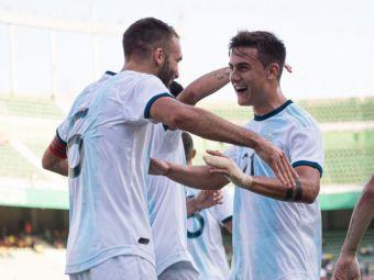 """Argentina traieste fara Messi si Higuain! Noua nationala a lui Scaloni a """"masacrat"""" Ecuadorul. Rezultatele din celelalte amicale"""