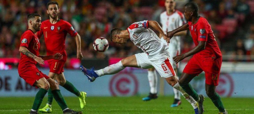 PRELIMINARII EURO 2020   Anglia face instructie cu Bulgaria, 6-0! Portugalia lui Ronaldo pierde in Ucraina! Franta, 1-1 cu Turcia   VIDEO REZUMATE