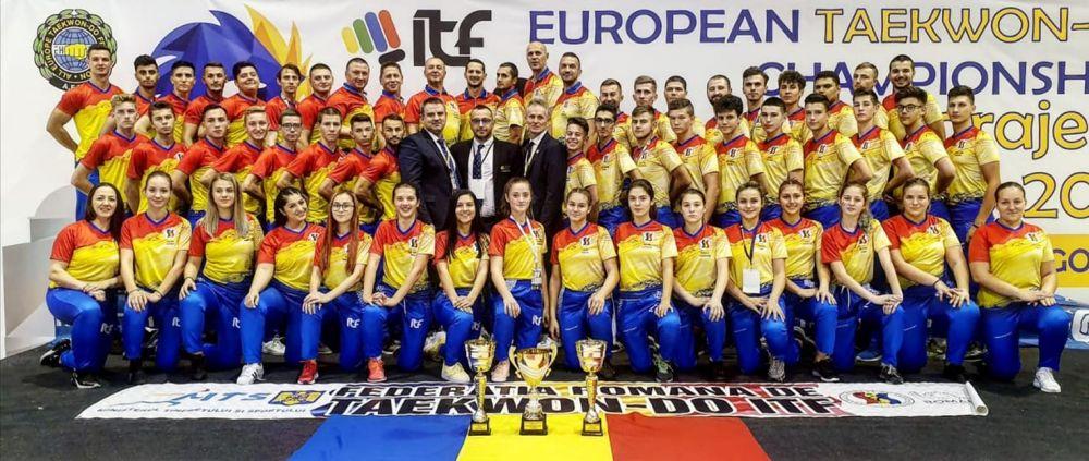 9 medalii de aur, 5 de argint si 13 de bronz, pe 3 in clasamentul general de la Euro! Sportul la care RUPEM Germania, Italia, Olanda, Franta sau Anglia