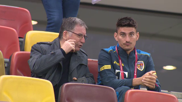 Macar a avut locuri la VIP! :) Stelistul Iulian Cristea a vazut meciul cu Argaseala