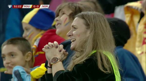 ROMANIA - NORVEGIA 1-1 | COPII, NU FACETI CA EL! Imagini uluitoare cu Cosmin Contra injurandu-l pe George Puscas, dupa ce a ratat penalty-ul VIDEO