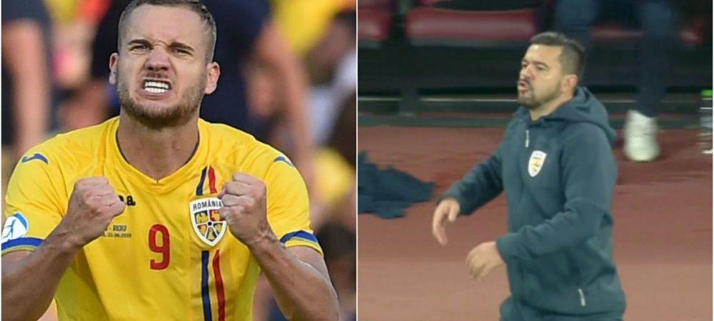 """Contra l-a tras pe Puscas deoparte dupa meciul cu Norvegia: """"A fost o discutie barbateasca!"""" Ce i-a spus selectionerul dupa ce l-a injurat ca la usa cortului in timpul partidei"""