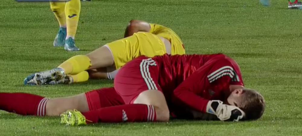 FOTO | Cum arata Man dupa lovitura teribila incasata la meciul nationalei! Jucatorul FCSB va fi nevoit sa poarte o masca