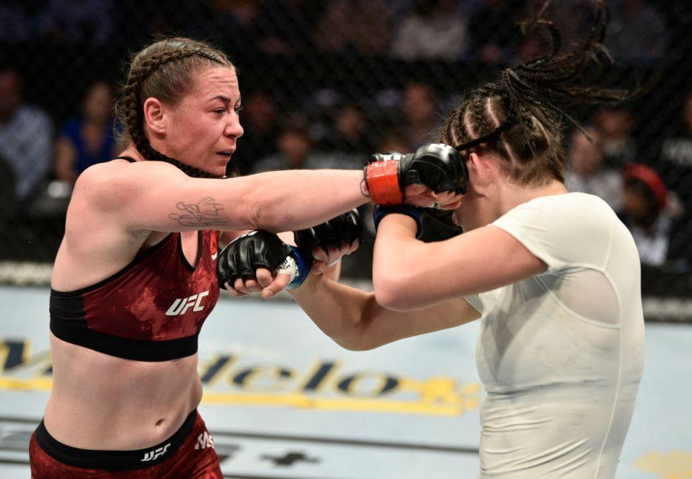 Diana Belbita, infrangere VIOLENTA in UFC! Adversara n-a avut mila si a lovit-o pana la sange! VIDEO