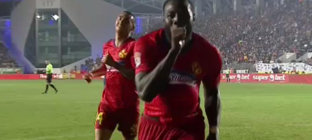 CHINDIA TARGOVISTE - FCSB 1-2 | Gnohere o salveaza pe FCSB cu al doilea gol al sezonului! Chindia a deschis scorul! Hent la golul gazdelor si penalty nearcordat FCSB-ului. Fazele