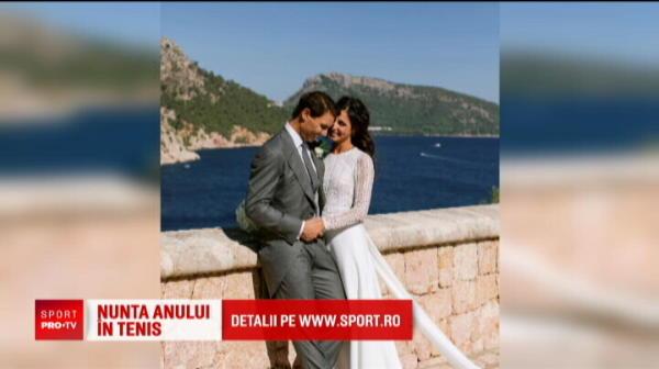Absente de top de la nunta anului! Federer si Nastase nu au fost invitati la nunta lui Rafael Nadal