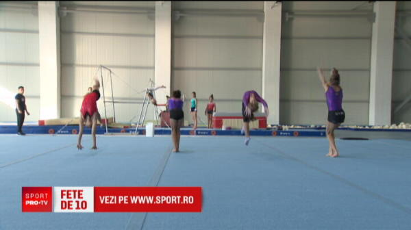 Stelista Sandra Izbasa a adus ultimele medalii olimpice de aur la gimnastica! Micile gimnaste de la Dinamo promit sa le castige pe urmatoarele