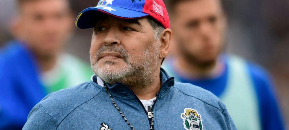 Superstitiile lui Maradona! Legenda Argentinei a INTERZIS jucatorilor sa mai poarte culoarea verde. Ce alte schimbari a mai facut la noua sa echipa