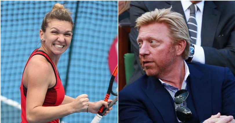 """Boris Becker: """"Imi place foarte mult de Simona Halep."""" Ce spune fostul mare tenismen despre posibilitatea de a-i fi antrenor Simonei Halep"""