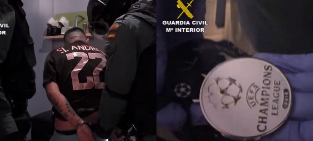 FA-BU-LOS!!! Grupare interlopa care fura din casele fotbalistilor de la Real si Atletico, arestata de politie. Ce nationalitate erau hotii