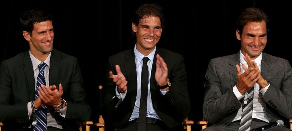 Cifre IMPRESIONANTE pentru primii trei jucatori din clasamentul ATP! Cate meciuri au castigat Federer, Nadal si Djokovic! Toti 3 au un procentaj de peste 80%