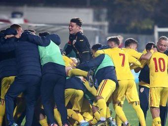 Victorie URIASA pentru Romania U17! Tricolorii au invins Rusia si sunt aproape de calificarea la Turul de Elita