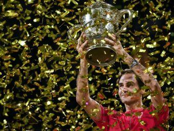 Roger Federer a scris ISTORIE in orasul sau natal! 10 titluri la Basel si LACRIMI de CAMPION