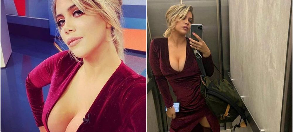 Daca nu Wanda, atunci cine?! BOMBA! Poza topless din culise postata de sotia lui Icardi: a rupt Instagramul :) FOTO