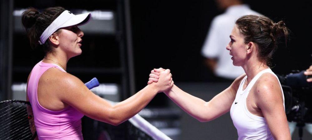 """CRONICA REVENIRII ANULUI pentru Simona Halep! Cum a reusit romanca sa o invinga pe Andreescu la Turneul Campioanelor: """"Ne-a amintit ce are in comun cu Djokovic si Nadal"""""""
