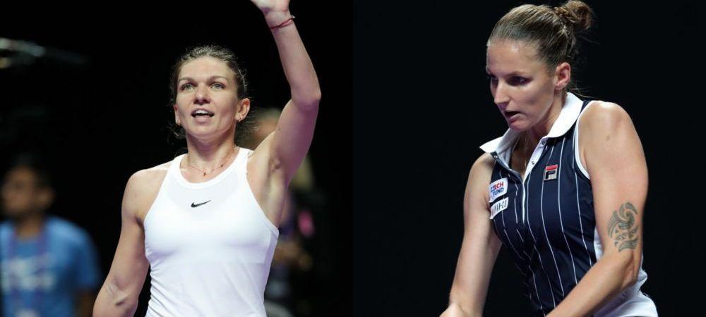 TURNEUL CAMPIOANELOR | De ce Simona Halep e favorita la calificare in semifinale la Shenzhen! Romanca joaca cu Pliskova ultimul meci al grupelor