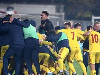 CALIFICARE pentru ROMANIA U17! Tricolorii s-au distrat astazi in meciul cu San Marino si merg la Turul de Elita