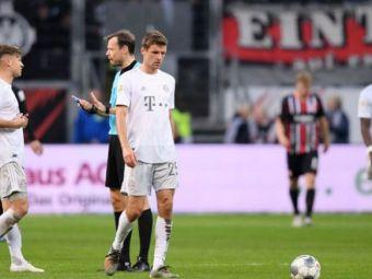 Umilinta ISTORICA pentru Bayern! Au pierdut cu 5-1 la Frankfurt! Leipzig a reusit scorul serii in Europa! A distrus-o cu 8-0 pe Mainz
