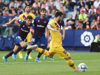 SOC IN LA LIGA! Barcelona a incasat 3 goluri in 7 minute! Messi a batut inca un record, iar un gol a fost anulat de VAR. Ce s-a intamplat