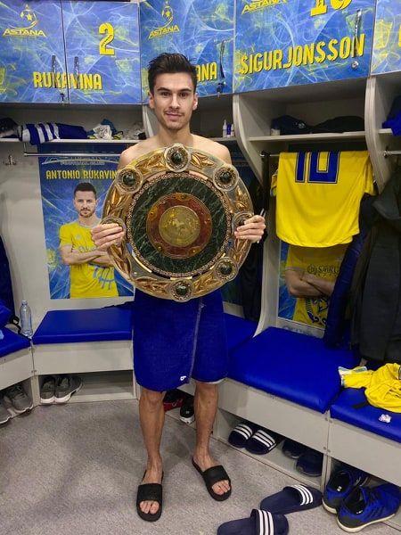 Dorin Rotariu, CAMPION in Kazakhstan! Astana a cucerit titlul la un singur punct de urmatoarea clasata! Romanul a fost al doilea marcator in tricoul kazacilor