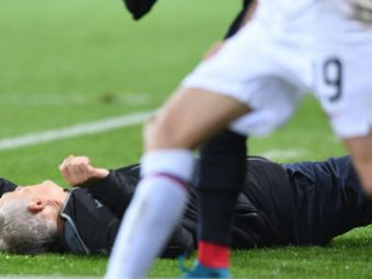 MOMENT SOCANT in Bundesliga! Antrenorul lui Freiburg a fost facut K.O de un jucator advers! Un PLACAJ ca la rugby a starnit o bataie generala | VIDEO