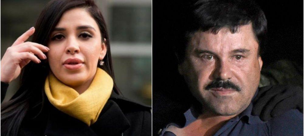 Cu cine s-a vazut sotia lui El Chapo, pe un yacht, in timp ce acesta e inchis pe viata in SUA!
