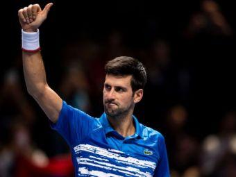 TURNEUL CAMPIONILOR | Novak Djokovic s-a impus in primul meci, cu o victorie in doua seturi! Cu cine va juca urmatorul meci