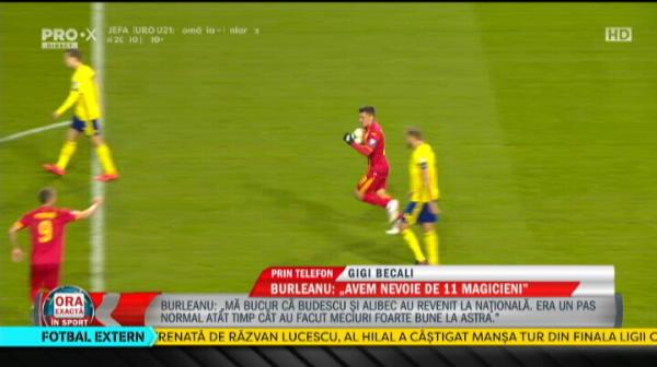 """""""Eu v-am dat 5, nu pot sa fac eu echipa nationala!"""" Jucatorii pe care Becali ii vrea in teren cu Suedia: Budescu nu e pe placul patronului FCSB"""