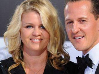 """Sotia lui Schumacher, acuzata ca MINTE: """"Stiu ca Michael se afla intr-o stare extrem de grava! Povestea lui nu se poate termina asa!"""""""