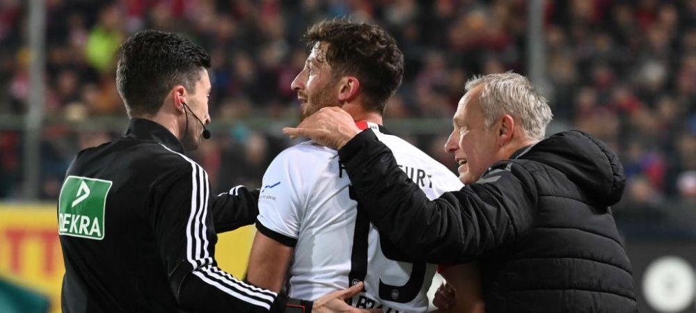 PEDEAPSA URIASA primita de David Abraham dupa ce l-a facut KO pe antrenorul lui Freiburg! Decizia luata dupa momentul socant din Bundesliga