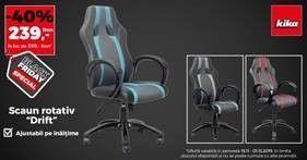 BLACK FRIDAY 2019. Stai comod? Sau de Black Friday in 2019 cauti si un scaun de birou nou la kika?
