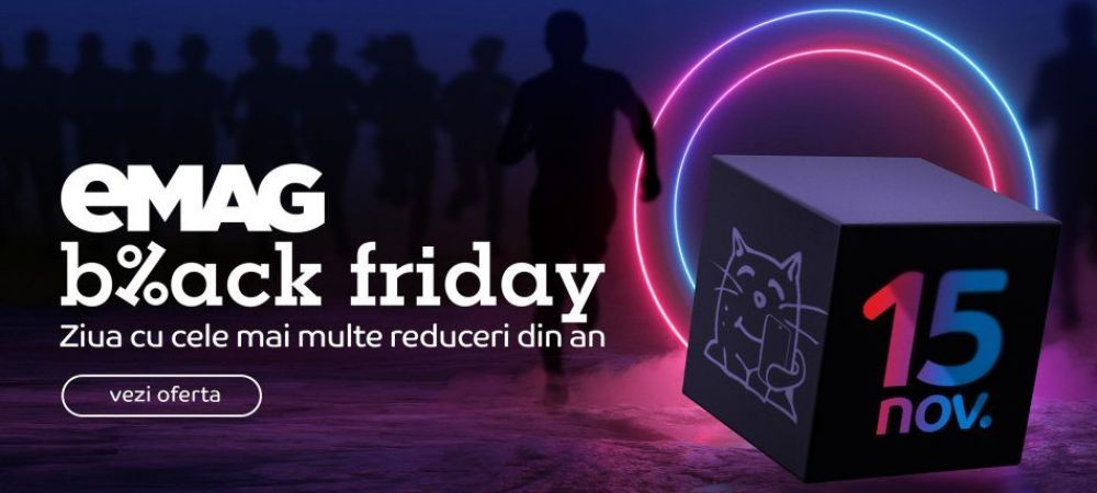 Black Friday 2019 la eMAG: vanzari de 400 milioane de lei la 9 ore de la startul REDUCERILOR