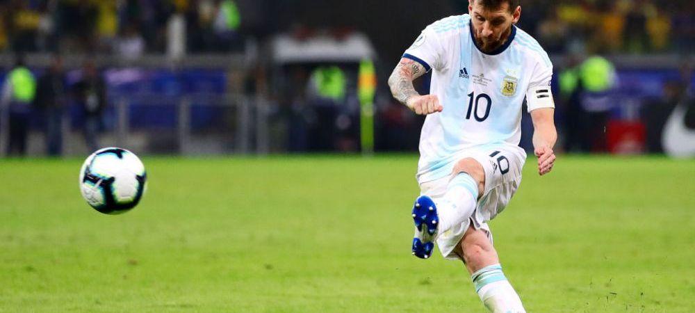 AMICAL DE LUX Brazilia 0-1 Argentina   Messi a adus victoria intr-un meci disputat in Arabia Saudita, la Riad. VEZI AICI FAZELE