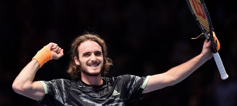 SCHIMB DE GENERATII! Tsitsipas il bate pe Federer si e primul finalist la Turneul Campionilor