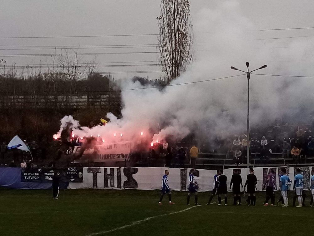 Atmosfera SENZATIONALA in liga a 6-a din Romania! Jucatorii s-au simtit ca in Champions League la derby