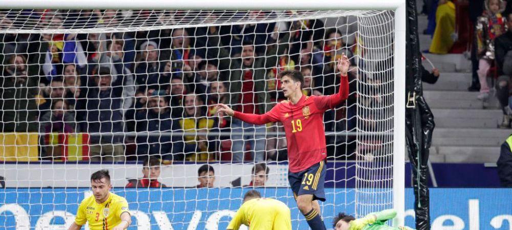 UMILINTA TOTALA la Madrid! De cand nu a mai fost condusa nationala cu 4-0 la pauza