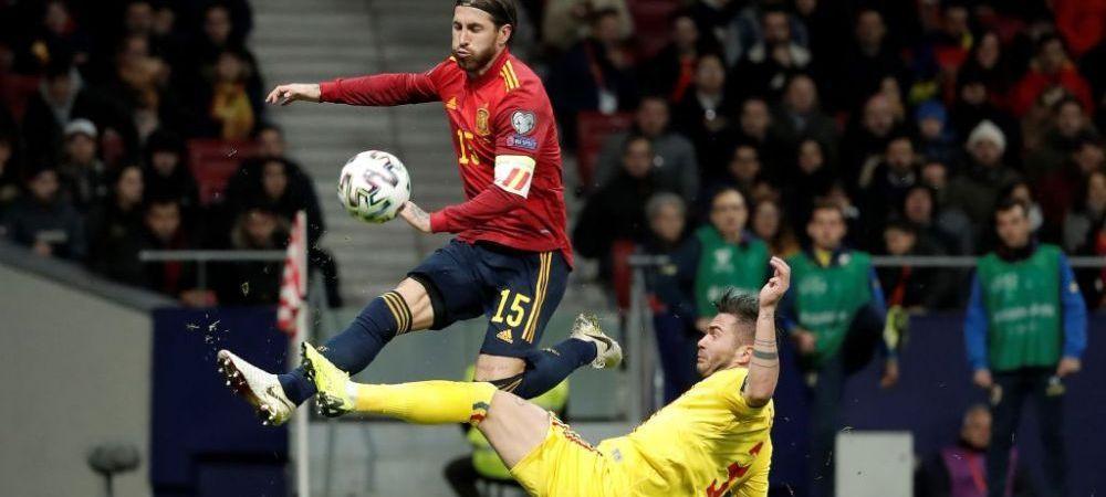 """Macar au ramas cu o amintire frumoasa dupa vizita pe Wanda Metropolitano! """"Tricolorii"""" au facut schimb de tricouri: cu cine a facut schimb Ramos"""