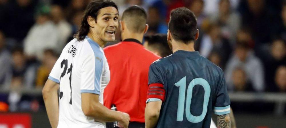 """INCREDIBIL! Messi, la un pas de bataie cu Cavani! """"Hai sa ne batem!"""" Dialog RAZBOINIC al celor doi jucatori pe tunelul dinspre vestiare"""