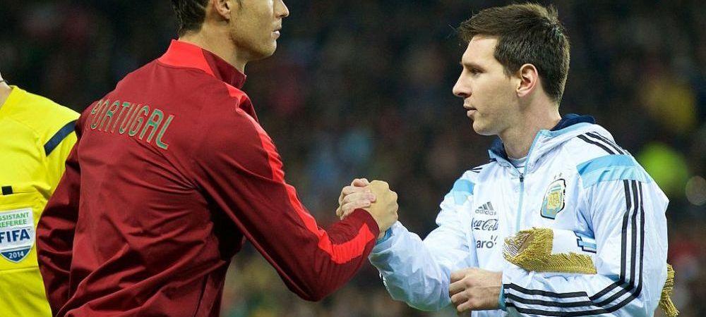 Diferenta COLOSALA dintre Messi si Ronaldo! Statistica incredibila a golurilor celor doi pentru echipele nationale