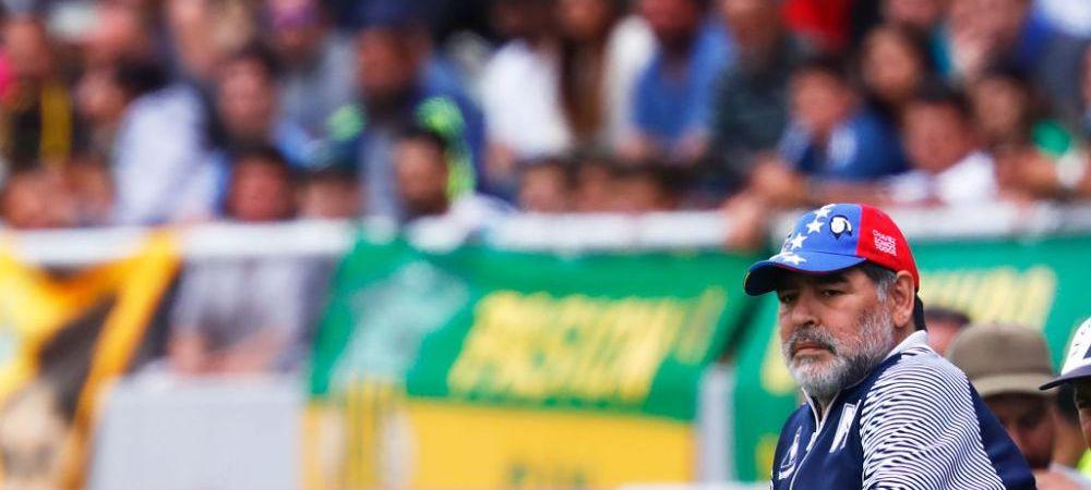 Maradona a DEMISIONAT dupa doar 2 luni! Motivul pentru care argentinianul pleaca de la Gimnasia La Plata