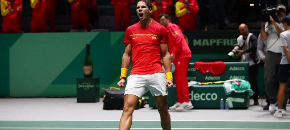 """Rafa Nadal, socat de propria performanta: """"Nu ma gandeam niciodata ca voi putea face asta pana la 33 de ani."""" Liderul ATP a mai castigat un titlu"""