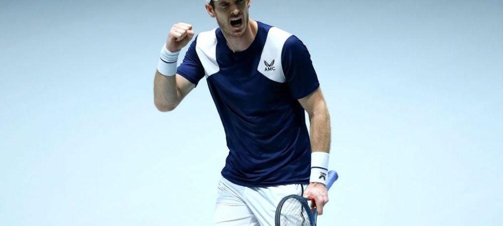 Andy Murray a castigat primul meci de Cupa Davis dupa 3 ani! Ce crede britanicul despre noul format al competitiei, schimbat de Pique dupa 119 ani