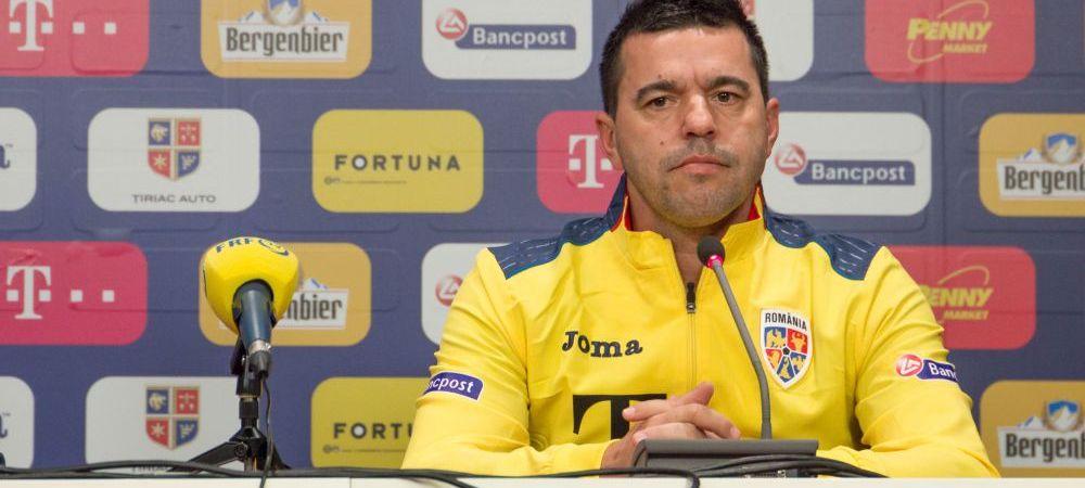 """Contra s-a razgandit: """"Jucatorii au facut tot posibilul pentru a se califica!"""" Ce spune despre campania esuata pentru EURO 2020"""