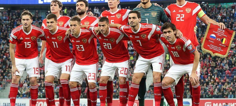 Rusia poate fi exclusa de la EURO 2020 din cauza dopingului! Toate calculele grupelor se schimba